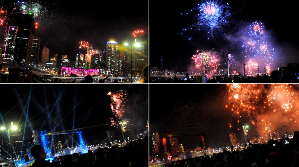 Brisbane Riverfire 2013