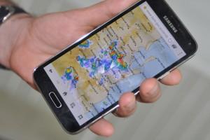 BOM Radar for Storm Activity