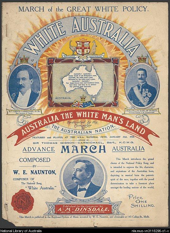 """The shameful foundation of the whitewashing of """"Australia"""""""